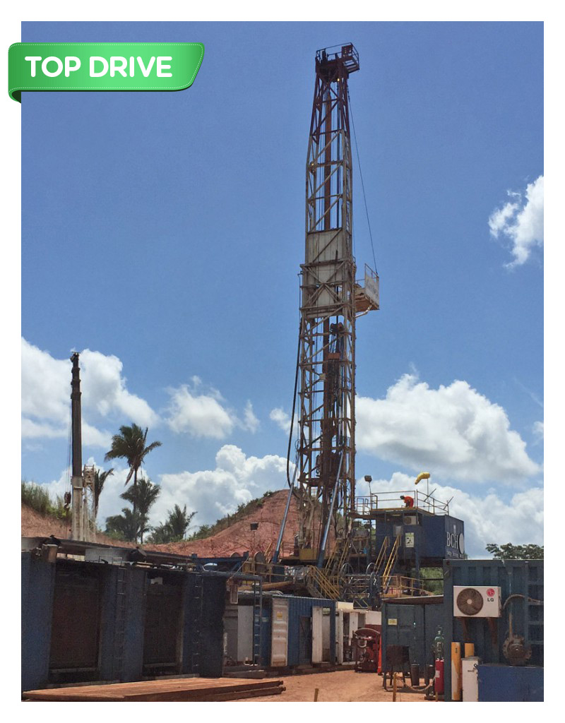 RIG OIL 105 – 850 HP (AC–DC, SCR type, Electric Power)