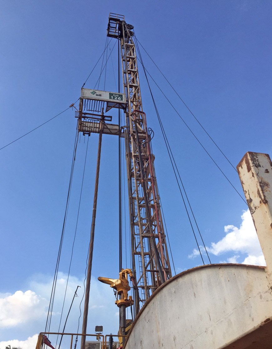 RIG OIL 126 – 750 HP Carrier Mounted Drilling Rig